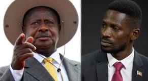 Bobi-Wine and museveni
